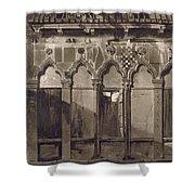 Arabian Windows, In Campo Santa Maria Shower Curtain