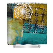 Arabic Motif 6b Shower Curtain