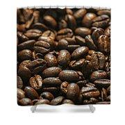 Arabica Beans Shower Curtain