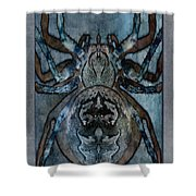 Arachnophobia V Shower Curtain