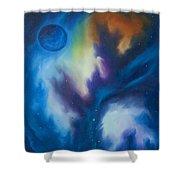 Aramon Nebula  Shower Curtain