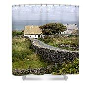 Aran Cottage Shower Curtain