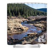 Arapaho National Forest Shower Curtain