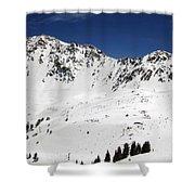 Arapahoe Basin Ski Resort - Colorado          Shower Curtain