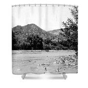 Aravaipa Creek Shower Curtain