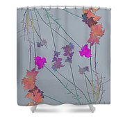 Arbor Autumn Harmony 1 Shower Curtain