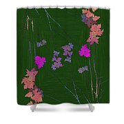 Arbor Autumn Harmony 10 Shower Curtain