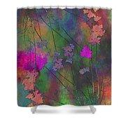 Arbor Autumn Harmony 4 Shower Curtain