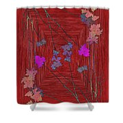 Arbor Autumn Harmony 7 Shower Curtain
