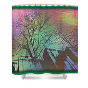 Arbor In The City 6 Shower Curtain