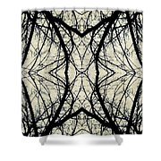 Arboreal Web Shower Curtain