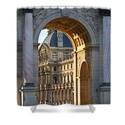 Arc De Triomphe Du Carrousel Shower Curtain