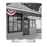 Arcade And Attica Depot Shower Curtain