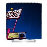Arcadia Lodge Shower Curtain
