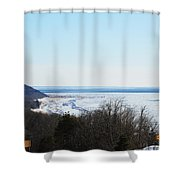 Arcadia Lookout Shower Curtain