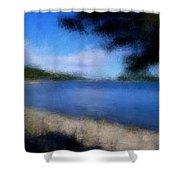 Arcadia Maine A La Manet Shower Curtain
