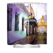 Arch- Antigua Shower Curtain