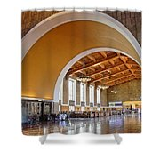 Arch At La Union Station Shower Curtain