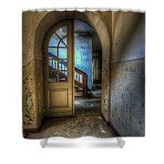 Arch Door Shower Curtain