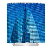 Arch In Glass Shower Curtain
