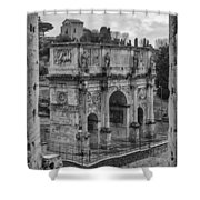 Arch Of Constantine Shower Curtain