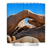 Arch Rock - Joshua Tree National Park  Shower Curtain