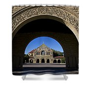 Arch To Memorial Church Stanford California Shower Curtain