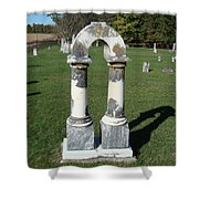Arch Tombstone2 Shower Curtain