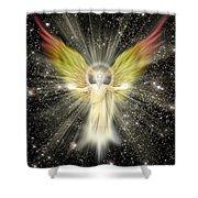 Archangel Gabriel Shower Curtain