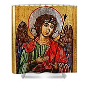 Archangel Michael Icon Shower Curtain