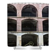 Arched Brick Portals Fort Point San Francisco Shower Curtain