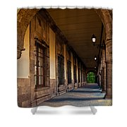 Arched Corridor Shower Curtain