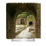 Arched Entrance To Fiesole Theatre Shower Curtain