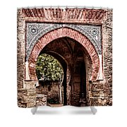 Arched  Gate Shower Curtain
