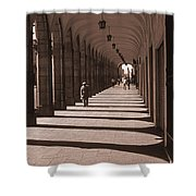 Arched Walk Way       Shower Curtain