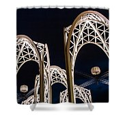 Arches And Angles 1 Shower Curtain