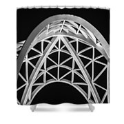Arches And Angles 2 Shower Curtain
