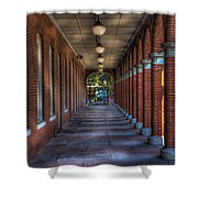 Arches And Columns Shower Curtain