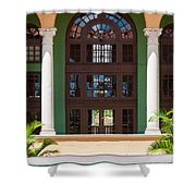Arches And Doors At The Biltmore Shower Curtain