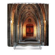 Arches At Duke Chapel Shower Curtain
