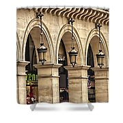 Arches In A Row  Shower Curtain
