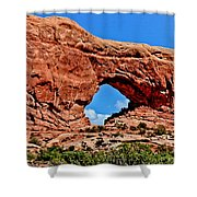 Arches National Park Painting Shower Curtain