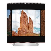 Arches National Park Panel Shower Curtain