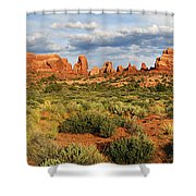 Arches National Park Panorama Shower Curtain