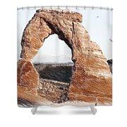 Arches National Park-utah Shower Curtain
