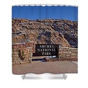 Arches National Park Utah Shower Curtain