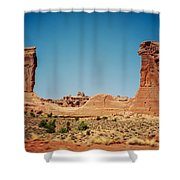 Arches Np II Shower Curtain