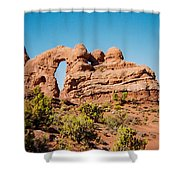 Arches Np Shower Curtain