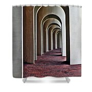 Arches Of Ferguson Center Shower Curtain