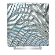 Arches Of Steel Shower Curtain